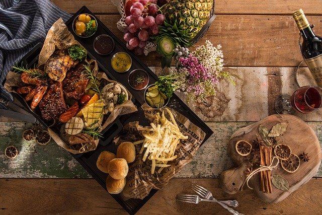plateau de nourriture